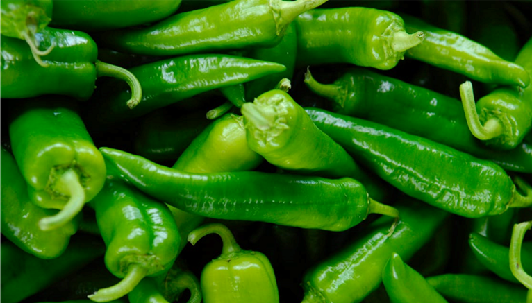 Image of green chilies